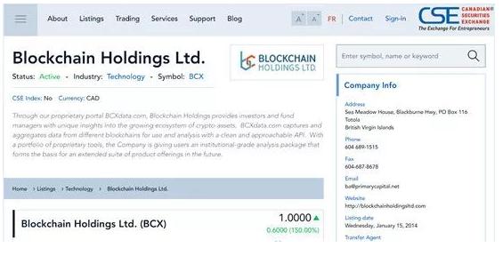 et40339150805231 - 为区块链企业提供上市的交易所-加拿大证券交易所(CSE)-美国上市